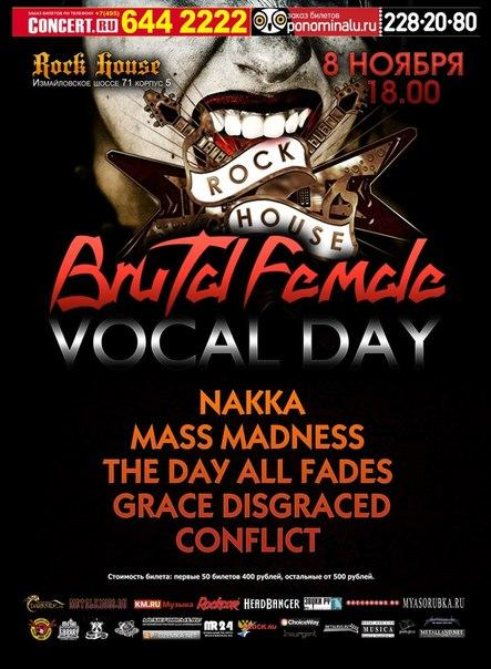 Brutal Female Vocal day