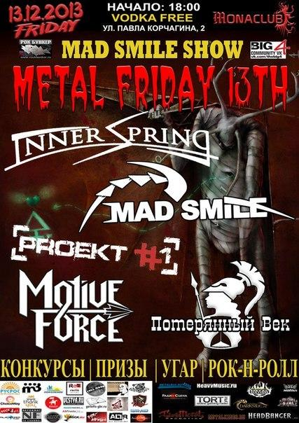 METAL FRIDAY 13th