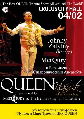 QUEEN CLASSIC PERFORMED BY MERQURY & THE BERLIN SYMPHONY ENSEMBLE
