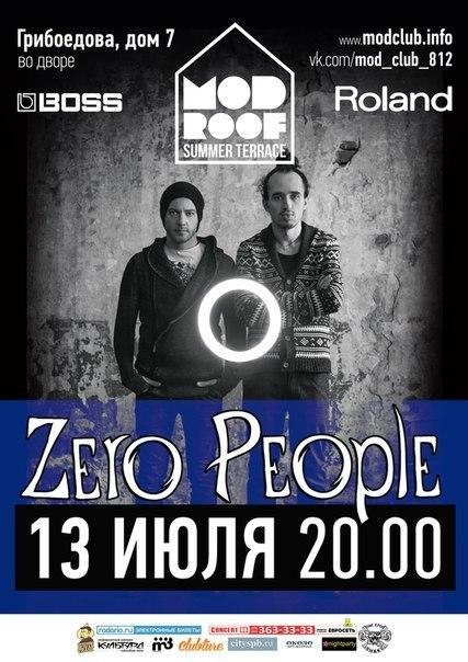 Zero People @ Mod Roof