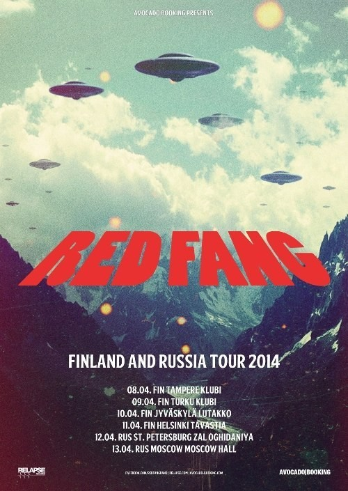RED FANG (USA) @ Зал Ожидания