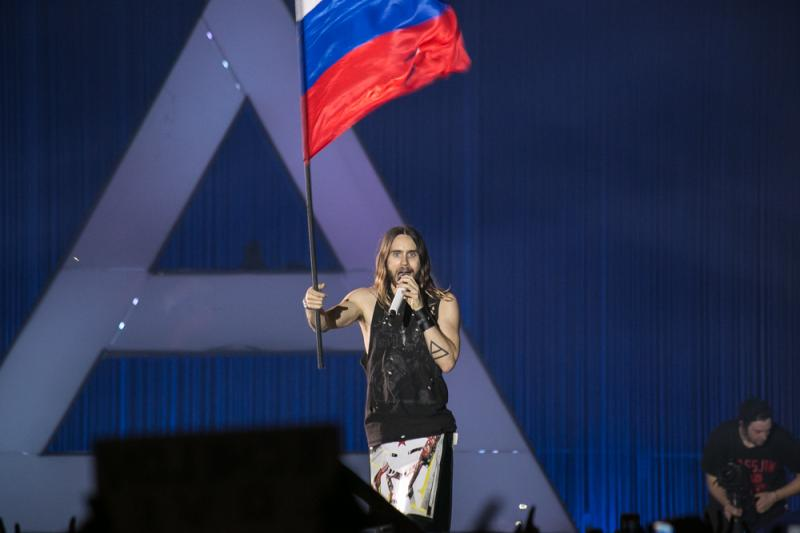 13 фото к материалу 30 SECONDS TO MARS  and the story goes on