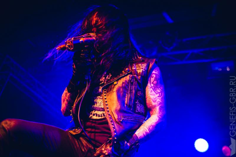 14 фото к материалу Amorphis Under The Red Cloud Tour 2016