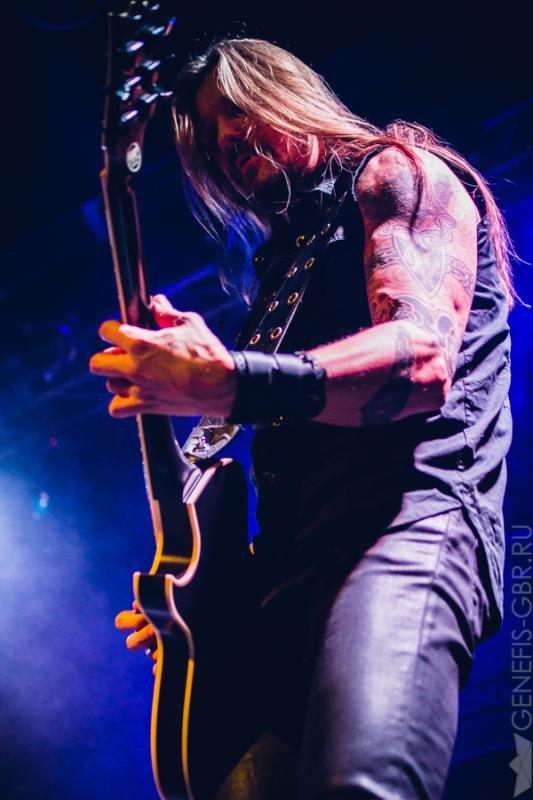 7 фото к материалу Amorphis Under The Red Cloud Tour 2016