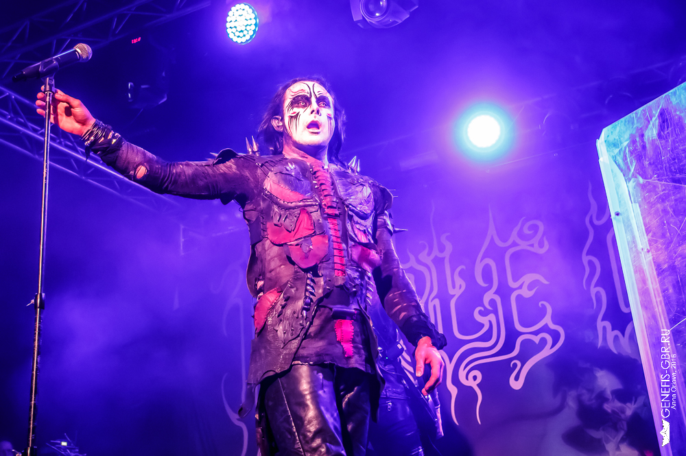 30 фото к материалу CRADLE OF FILTH отыграли концерт в Москве  фото