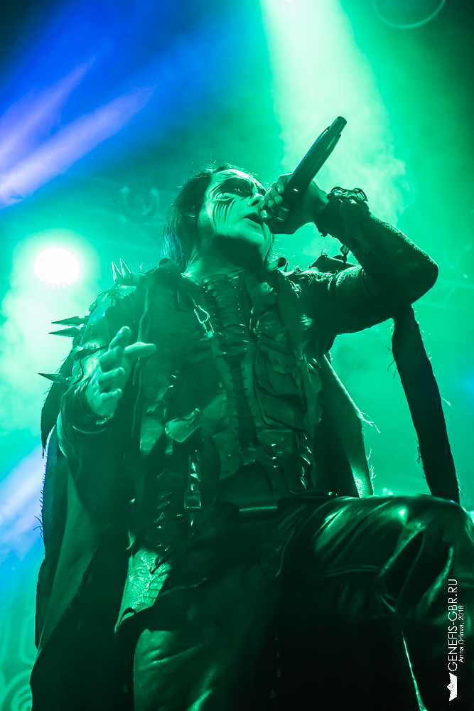 41 фото к материалу CRADLE OF FILTH отыграли концерт в Москве  фото