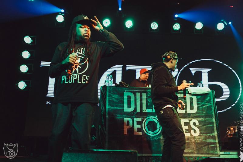 11 фото к материалу Dilated Peoples в клубе Театръ