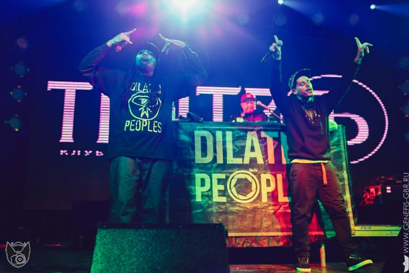 14 фото к материалу Dilated Peoples в клубе Театръ