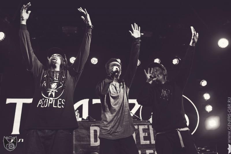 38 фото к материалу Dilated Peoples в клубе Театръ