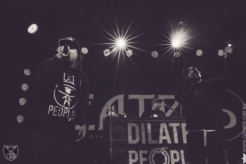 44 фото к материалу Dilated Peoples в клубе Театръ