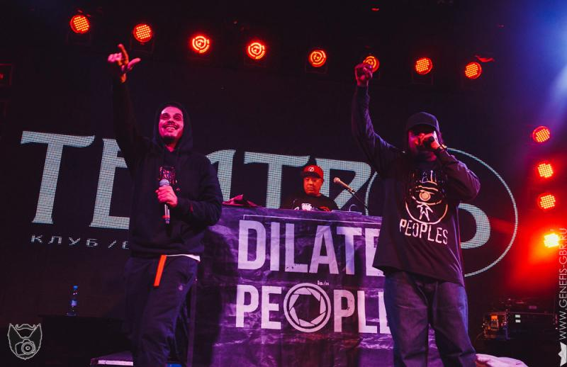 48 фото к материалу Dilated Peoples в клубе Театръ