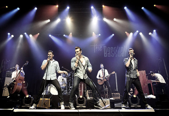 3 фото к материалу The Baseballs в Ray Just Arena